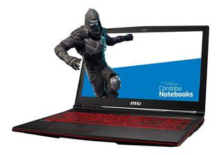 Notebook Msi Core I7 9750h 16gb 256ssd 17.3 Gtx 1050 Ti Win