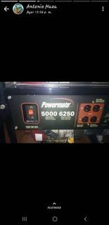 Planta - Generador Eléctrico Powermate 5000 - 6250