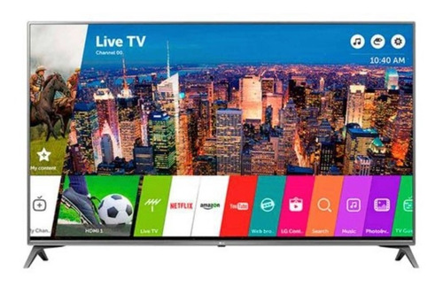 Smart Tv LG 43uj6560 Led 4k 43  + Brazo De Pared
