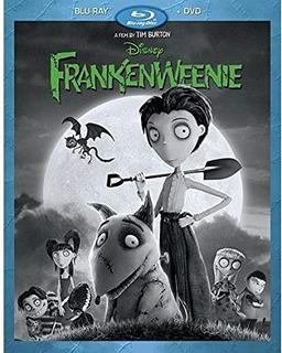 Frankenweenie Pelicula Disney Blu Ray Original Nueva Sellada