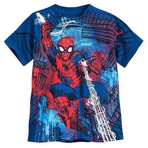 Camiseta Marvel Spider-man Para Ninos Talla Xxs 2 3 Multi4