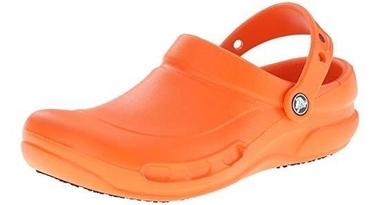 Zueco Crocs Batali Naranja Zapato Unisex Youniforms Chef