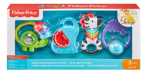 Fisher-price, Kit De Regalo Sonajas