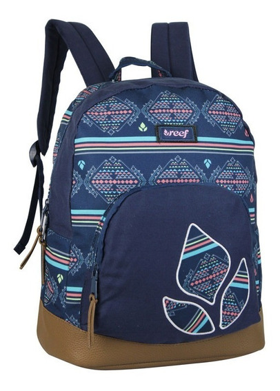 Mochila Reef Original 17 Canvas Sublimado Rf659 Locos X Vos