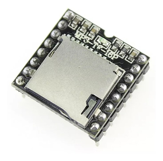 Modulo Dfplayer Mp3 Player Audio Wav Wma Raspberry Arduino