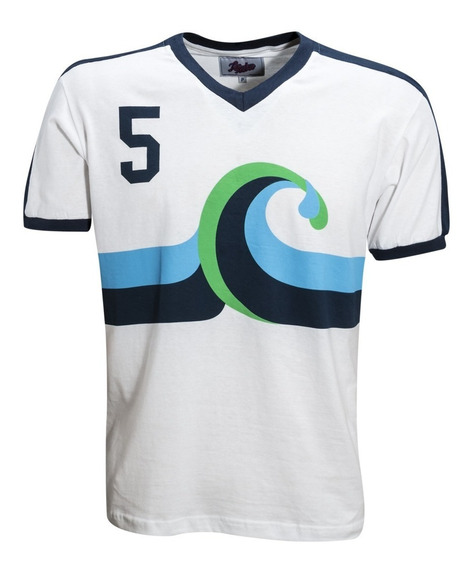 Camisa Retro California Surf 1981 Futebol Usa Ligaretro