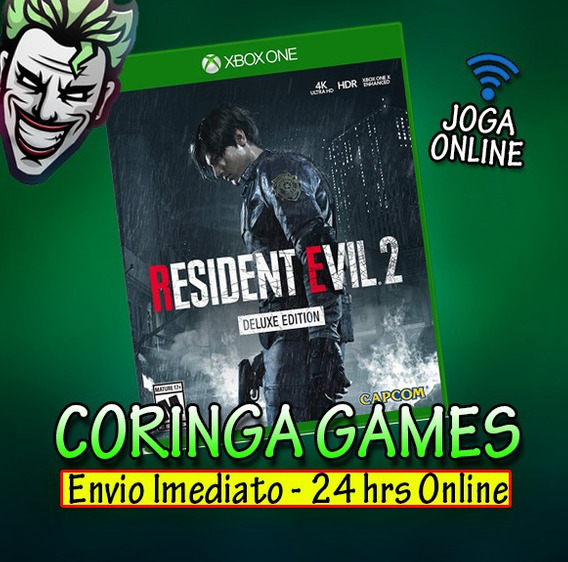 Resident Evil 2 Remake Deluxe Edition Xbox One Mídia Digital