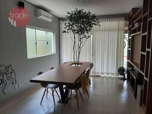 Imagem 1 de 17 de Casa Com 3 Dormitórios À Venda, 180 M² Por R$ 860.000,00 - Condomínio Residencial Alto Bonfim I - Ribeirão Preto/sp - Ca4128