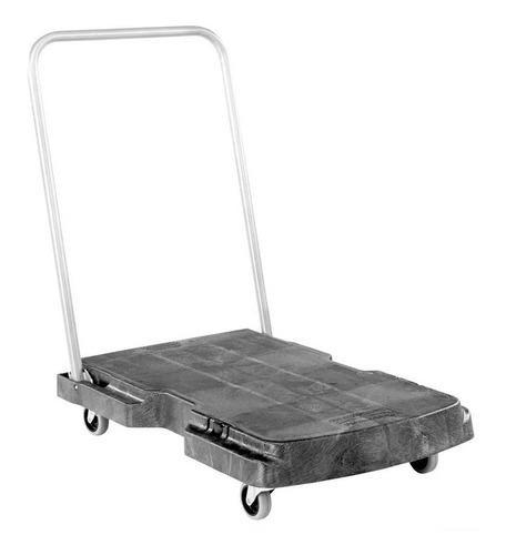 Imagen 1 de 1 de Carreta Plataforma De Carga Plegable 150kg 250lb Rubbermaid