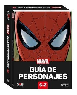 * Guia De Personajes Marvel * S - Z Puzzle Book Rompecabezas