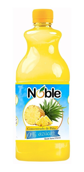 Concentrado 0% Azúcar De Piña Noble De 710 Ml