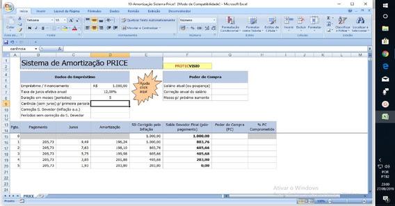 Planilha Cálculo De Empréstimo/dívida