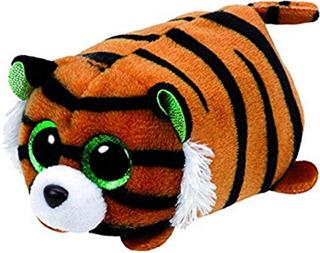 Peluche Tigre Teeny Ty Beanie Boos Tipo Tsum Tsum
