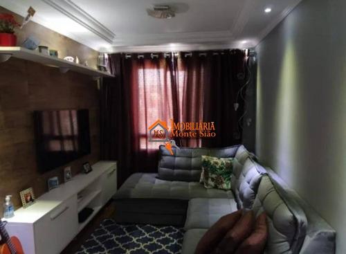 Apartamento Com 2 Dormitórios À Venda, 49 M² Por R$ 276.000,00 - Centro - Guarulhos/sp - Ap2991