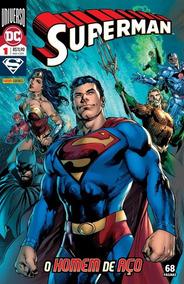 Superman: Universo Dc - Ed. 1/24 - O Homem De Aço - Dc
