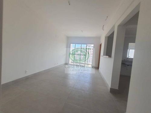 Apartamento Novo - Embaré - Santos - 01 Dormitório/suíte - Varanda - Garagem Demarcada - R$400.000,00 - Ap6592