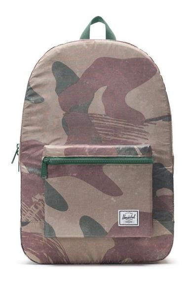 Mochila Herschel Packable Daypack Brushstroke Camo Unisex