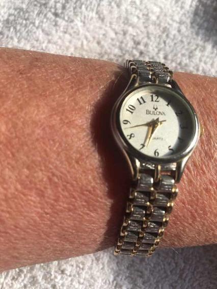 Relógio Feminino Bulova Modelo Antigo