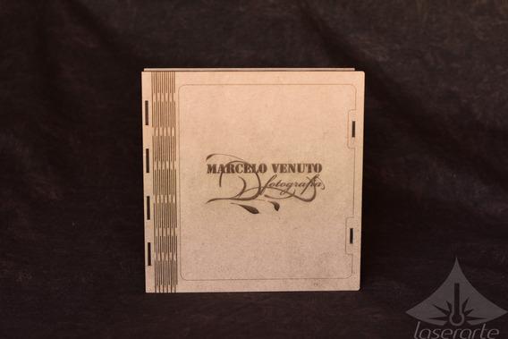 Caixa Para Album Fotolivro 21x21 Estojo Com Gravação A Laser