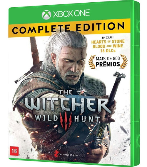 Jogo The Witcher 3 Wild Hunt Complete Edition Xbox One