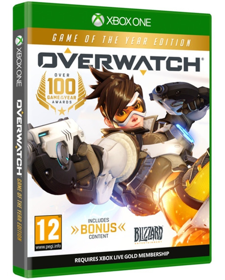 Overwatch Xbox One Midia Fisica Cd Original Lacrado Barato