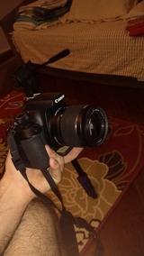 Canon T6+18-55+75-300+32gb Classe 10+tripé 5316+kit Limpeza