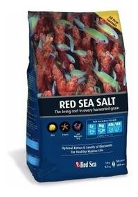 Sal Red Sea 4 Kg Sal Ideal P/ Corais Prepara Até 120 Litros
