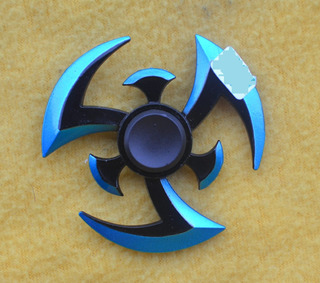 Fidget Spinner Metal Vicolor Edicion De Naruto