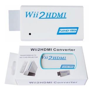 Convertidor Nintendo Wii A Hdmi Hd Alta Definicion 1080p