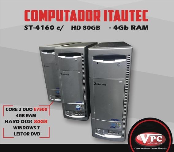 Computador Core 2 Duo E7500 Promoção