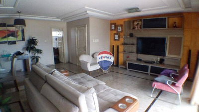 Apartamento Com 4 Suítes, 217 M² - Cidade Velha - Belém/pa - Ap0451