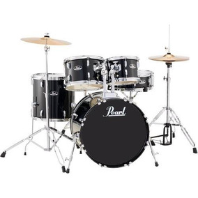 Bateria Acustica Pearl Roadshow Rs505 C31 5pc Jet Black