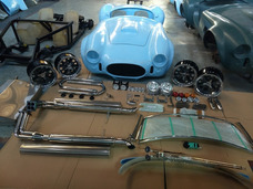 Shelby Cobra Kit Completo Carroceria Chassi E Acessórios.