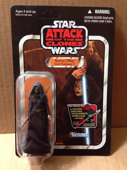 Star Wars Vintage Attack Of The Clones Barriss Offee Vc51