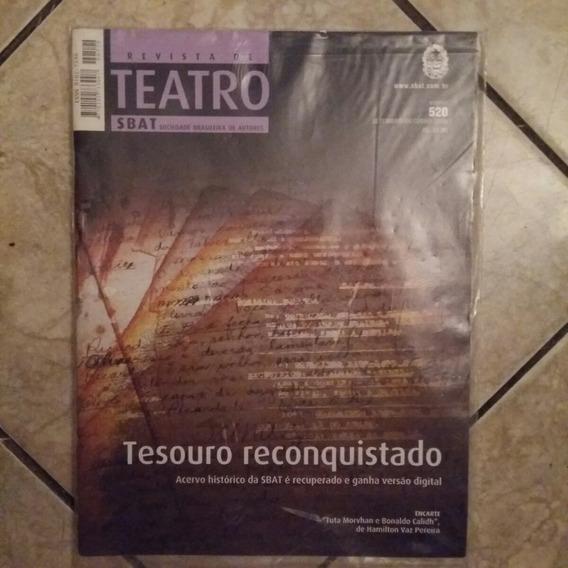 Revista De Teatro Sbat 520 Tesouro Reconquistado C/encarte