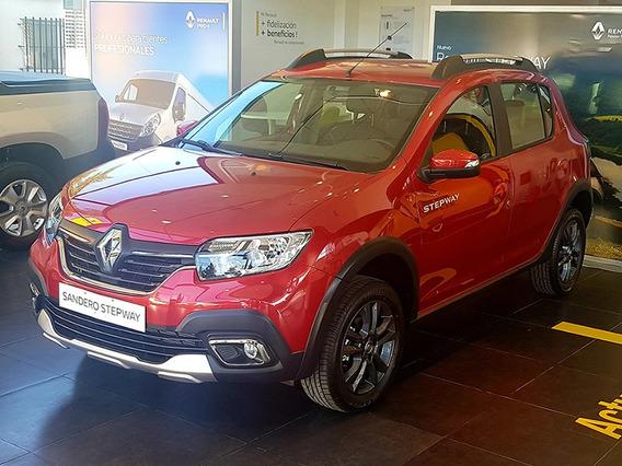 Renault Sandero Stepway Intens 1.6 2020 0km Contado Rojo