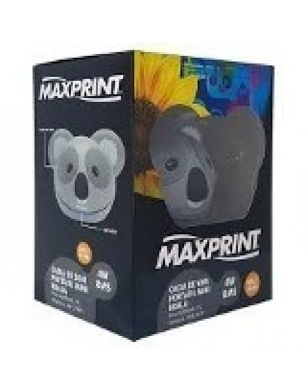 Caixa De Som Mini Koala Maxprint 4w Rms Pc Celulares Mp3/4