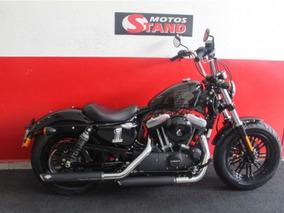 Harley Davidson Sportster Xl 1200 X Forty Eight Preta Preto