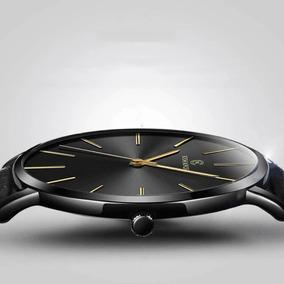 Relógio Masculino Ultra Fino, 6,5 Mm!