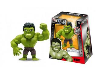 Figura Hulk Metal Jada Marvel 10cm Jugueterialeon