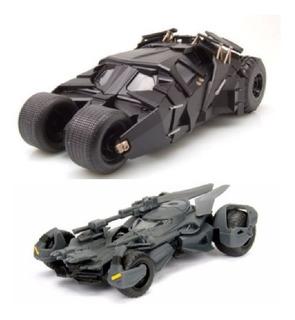 Colección Batimovil X2 Marca Jada Escala 1/32 Carros Batman
