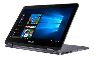 Laptop Asus Flip Intel Quad Core 4gb 500gb 11.6 Touch Tablet