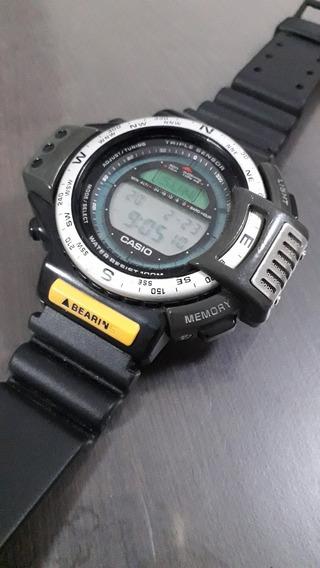Reloj Casio Vintage De Coleccion 3 Triple Sensor 1170atc1200
