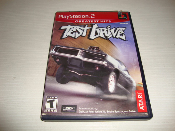 Test Drive Americano Completo Para Playstation 2