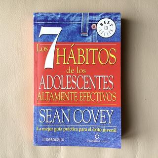 Libro De Autoayuda 7 Hábitos De Los Adolescentes Efectivos