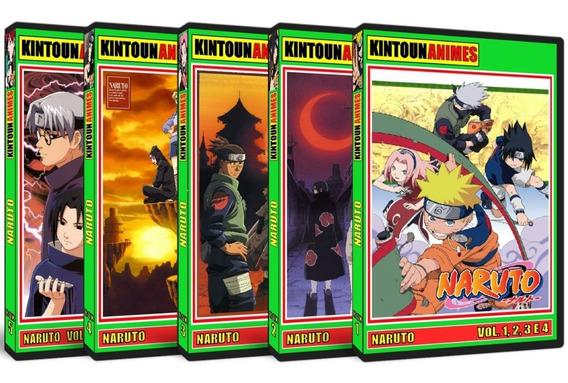Naruto Série Completa Em Dvd + Ovas + Filmes