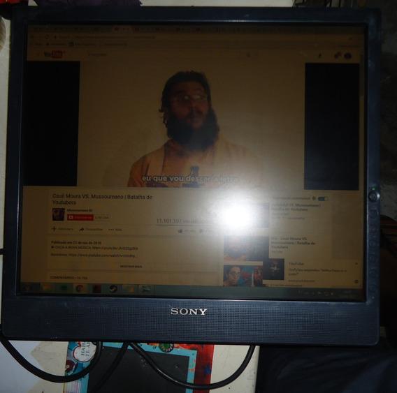 Monitor Sony 19