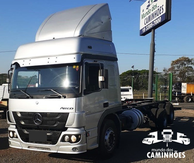 Mb Atego 2429 Truck 2012 Teto Alto