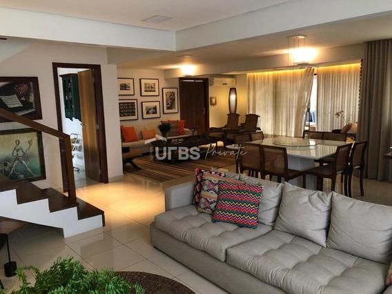 Apartamento Duplex Com 4 Dormitórios À Venda, 298 M² Por R$ 895.000 - Setor Nova Suiça - Goiânia/go - Ad0086