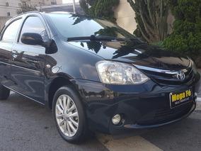 Toyota Etios 1.5 16v Xls 5p 2013 Preto Completo